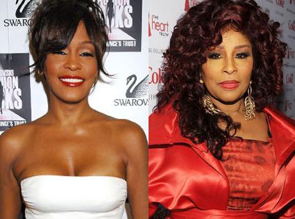 Whitney Houston, Chaka Khan