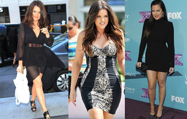 Khloé Kardashian thin magra emagreceu