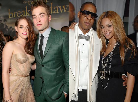 Beyoce, Jay-Z, Kristen Stewart, Robert Pattinson