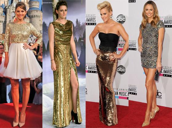 Maria Menounos, Kristen Stewart, Jenny McCarthy, Stacy Keibler