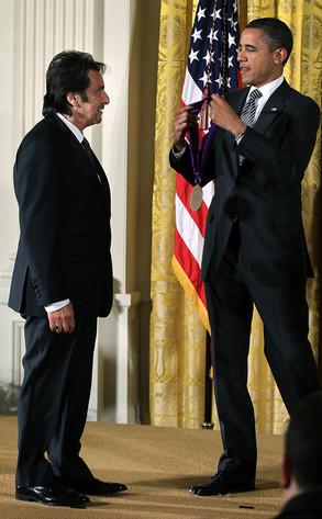 Al Pacino, Barack Obama