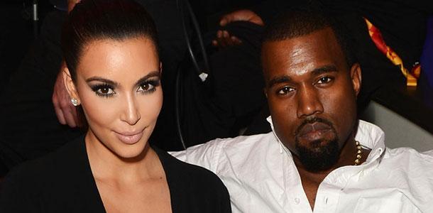 Kim Kardashian, Kanye West, EMA Show