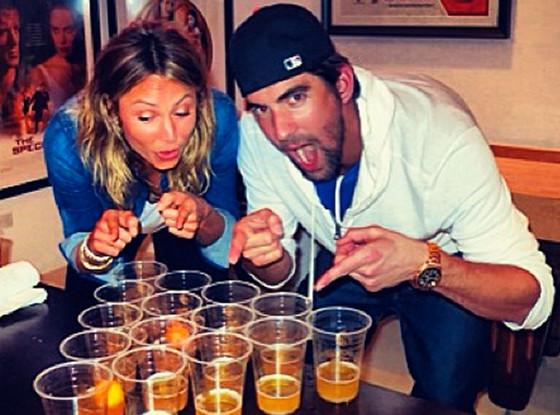 Stacy Keibler, Michael Phelps