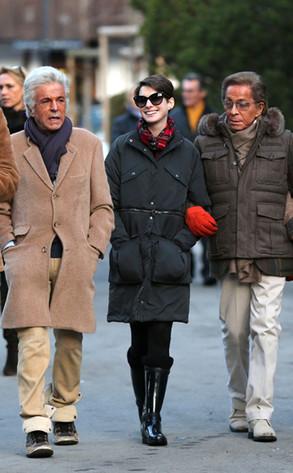 Anne Hathaway, Valentino Giammetti, Switzerland