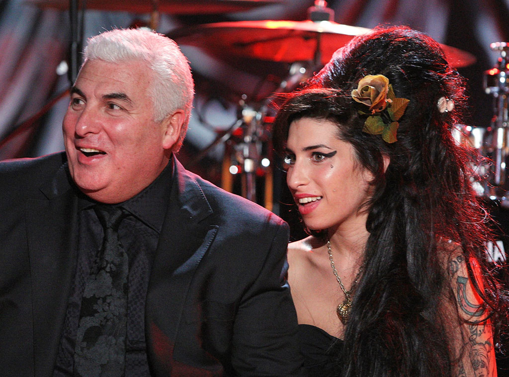 Amy Winehouse, Mitch Winehouse, 2008 Grammy Awards