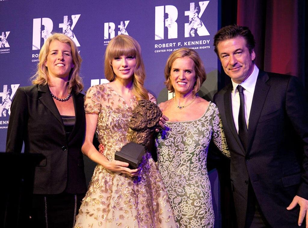 Taylor Swift, Kennedys, Alec Baldwin