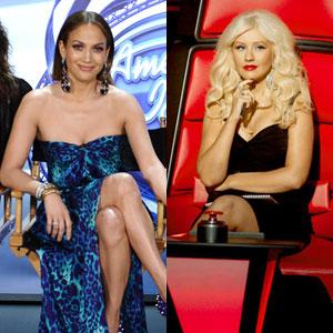 The Voice, Christina Aguilera, Jennifer Lopez, American Idol
