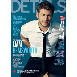 Liam Hemsworth, Details Magazine