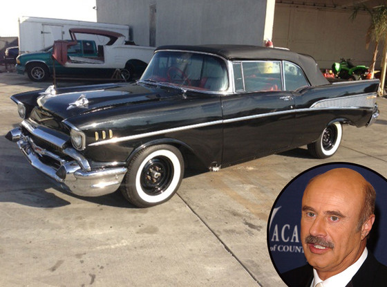 Dr. Phil McGraw Stolen Car