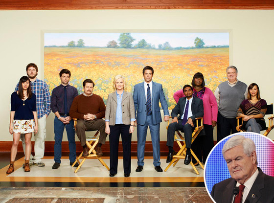 Parks and Recreation, Newt Gringrich
