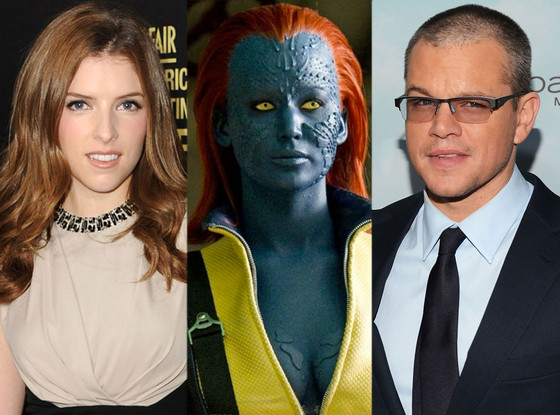 X Men: First Class, Jennifer Lawrence, Anna Kendrick, Matt Damon