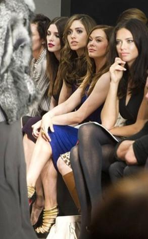 Adriana Lima, Rose McGowan, Emmy Rossum, Ashley Greene Twitter