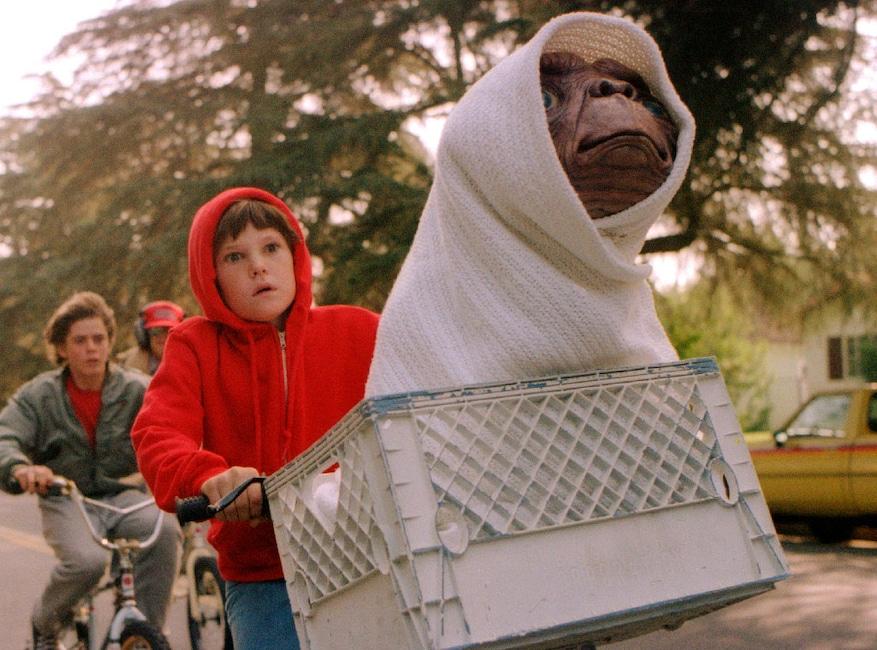 ET, E.T., Extra Terrestrial