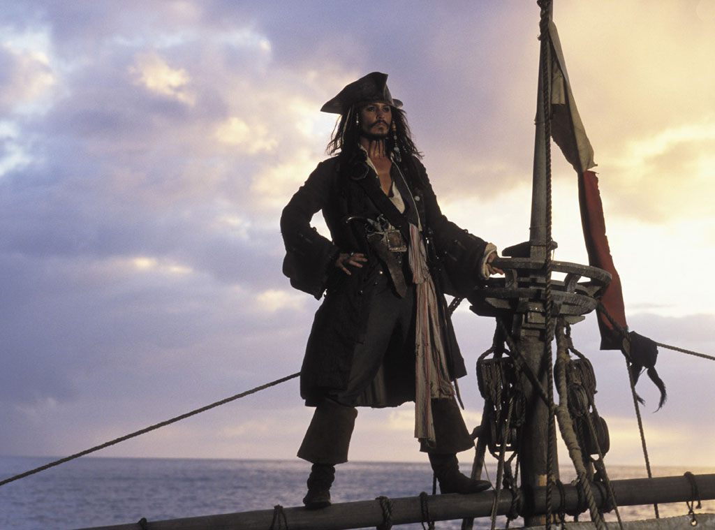 Johnny Depp, Pirates of the Caribbean: The Curse of the Black Pearl, Johnny Depp Best Roles