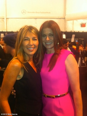 Nina Garcia, Debra Messing