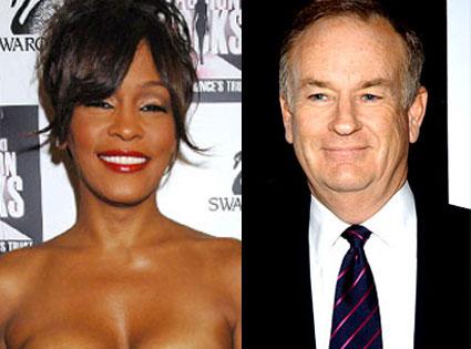 Whitney Houston, Bill O'Reilly