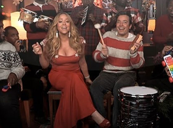 Mariah Carey, Jimmy Fallon