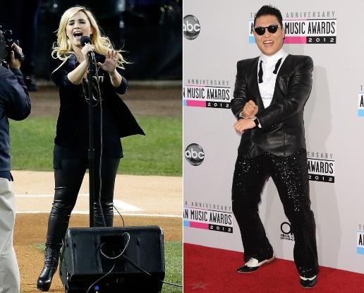 Demi Lovato, Psy