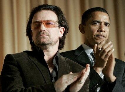 President Day Gallery, Bono, Barack Obama