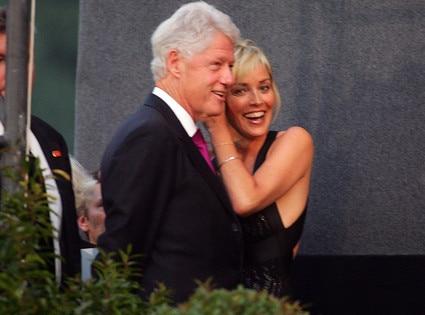 President Day Gallery, Bill Clinton, Sharon Stone