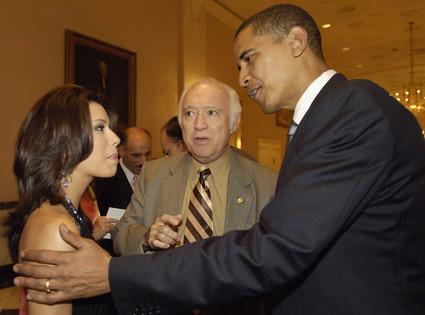 President Day Gallery, Eva Longoria, Barack Obama