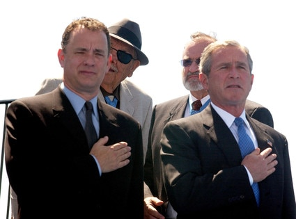 President Day Gallery, George Bush, Tom Hanks