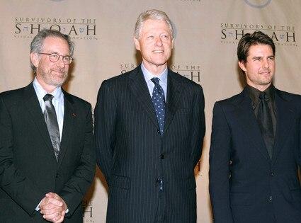 President Day Gallery, Steven Spielberg, Bill Clinton, Tom Cruise