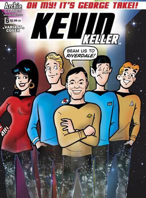 Archie Comic, George Takei