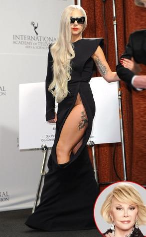 Lady Gaga, Joan Rivers