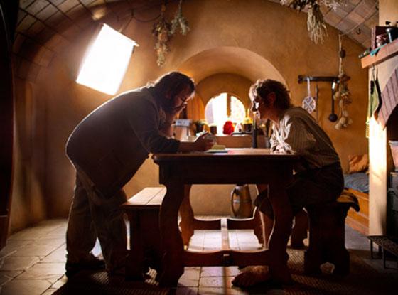 Martin Freeman, Peter Jackson, The Hobbit, behind the scenes
