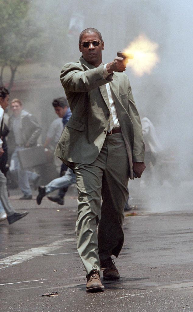 Man on Fire, Denzel Washington