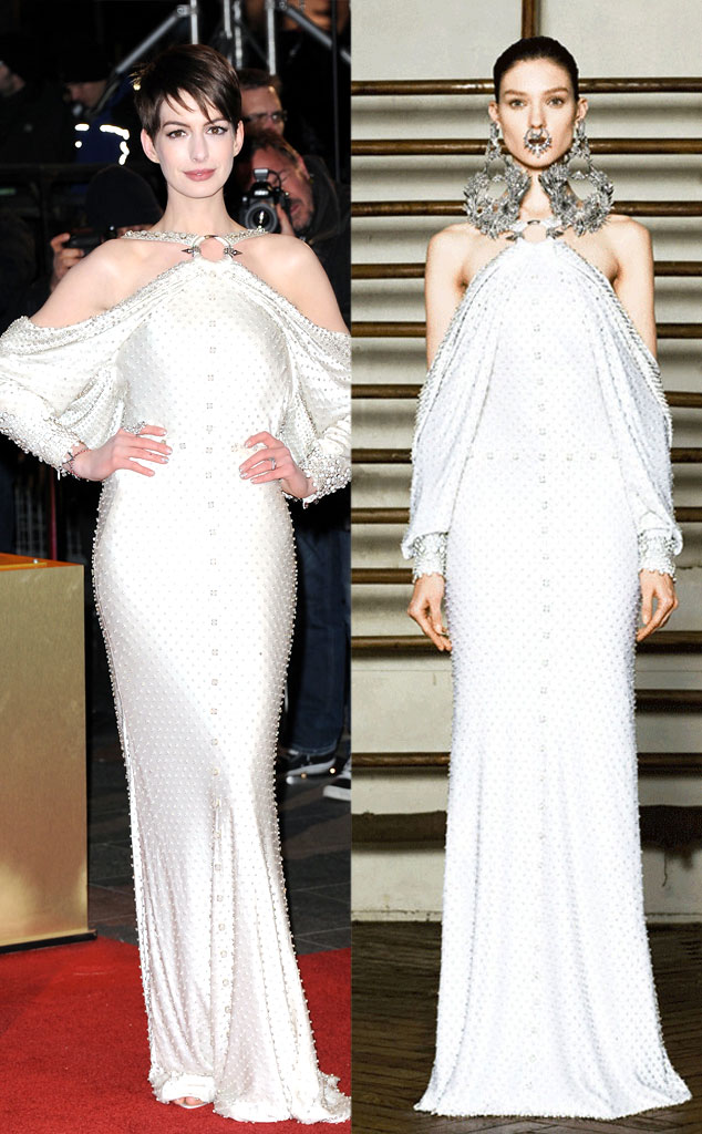 Givency Model, Anne Hathaway