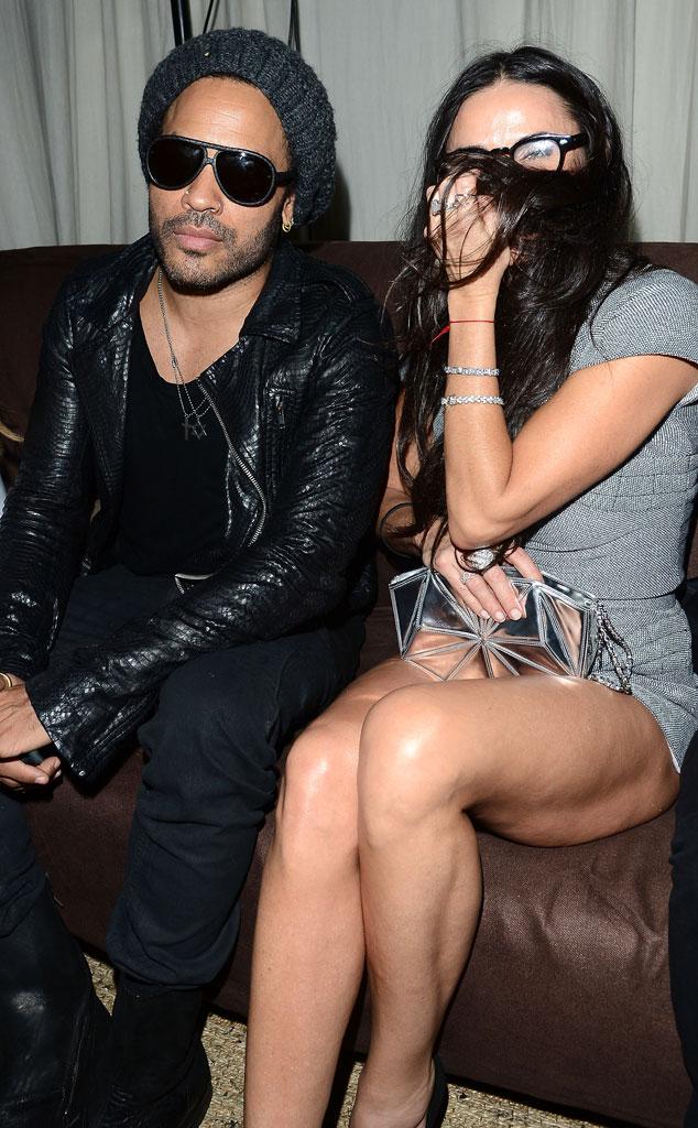 Lenny Kravitz, Demi Moore