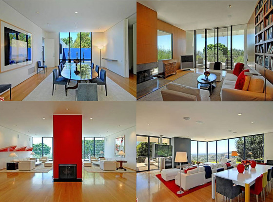 Jennifer Aniston, Justin Theroux Beverly Hills Home, Interior