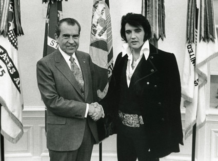 Richard Nixon, Elvis Presley