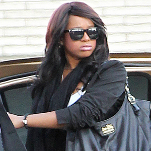 Bobbi Kristina, Whitney Houston Wake
