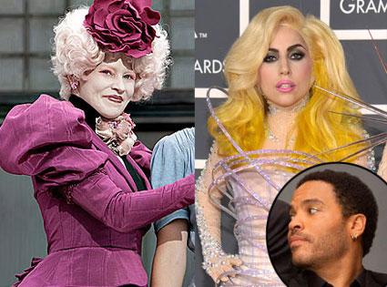 THE HUNGER GAMES, Elizabeth Banks, Lady Gaga