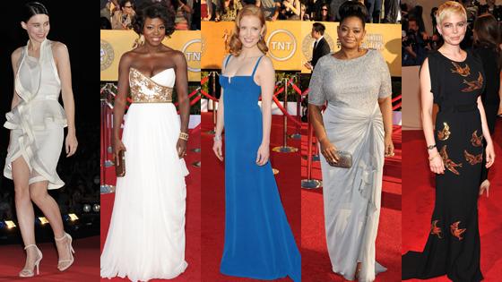 Octavia Spencer, Jessica Chastain, Rooney Mara, Viola Davis, Michelle Williams