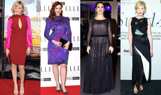 Malin Ackerman, Christina Hendricks, Cate Blanchett, Salma Hayek