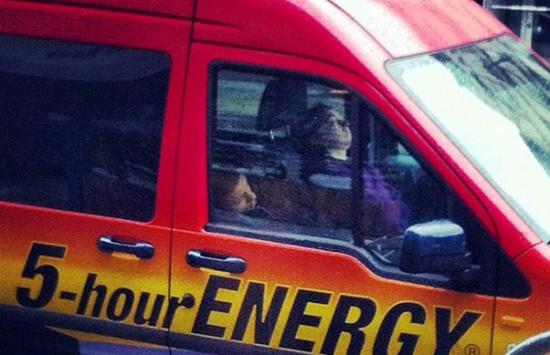 5 Hour Energy Five Sleeping Guys Car Soup X2