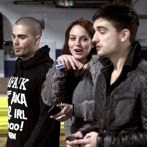Lindsay Lohan, Max George, Tom Parker, The Wanted