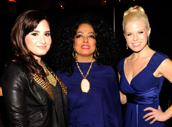 Demi Lovato, Diana Ross, Megan Hilty