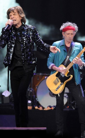 Mick Jagger, Keith Richards, The Rolling Stones