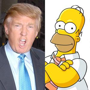 Donald Trump, Homer Simpsom