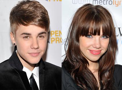 Justin Bieber, Carly Rae Jepsen