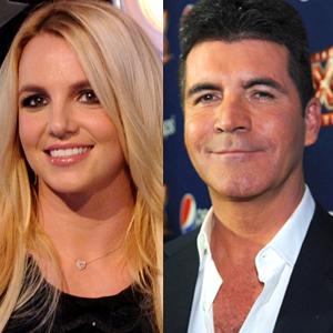 Britney Spears, Simon Cowell