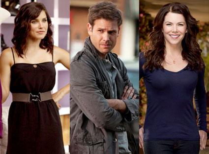 Sophia Bush, One Tree Hill, Lauren Graham, Parenthood, Matt Davis, The Vampire Diaries