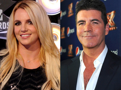 Britney Spears, Simon Cowell