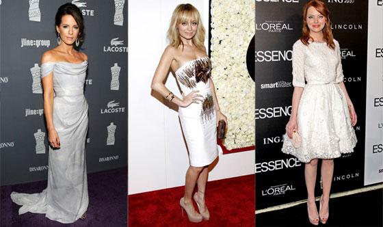 Emma Stone, Kate Beckinsale, Nicole Richie