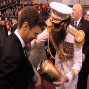 Sacha Baron Cohen Apologizes to Ryan Seacrest for Dictator